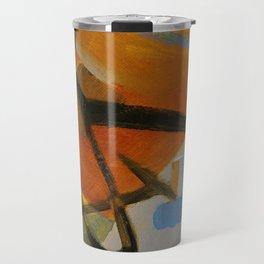 Calligraphy abstract Travel Mug