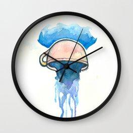 Ocean, tea, space Wall Clock