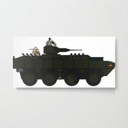 tank Metal Print
