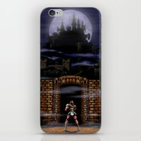 castlevania iPhone & iPod Skins featuring Trick or Treat by VGPrints