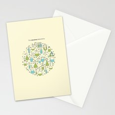 The Chemistry Laboratory Stationery Cards