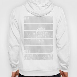 White Plant On A Grey Background #decor #society6 Hoody