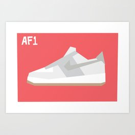 Air Force Minimalist Art Print
