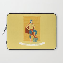 Lucha Library Laptop Sleeve