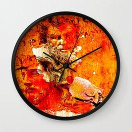 The treason of Judas Iscariote Wall Clock