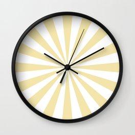 Starburst (Vanilla/White) Wall Clock