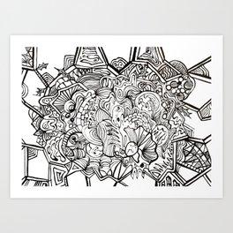 organiconnect Art Print