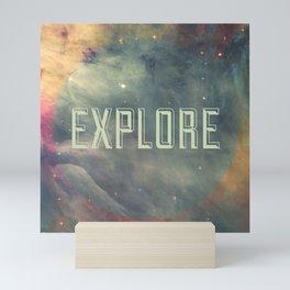 Explore III Mini Art Print