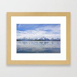 Teton Framed Art Print