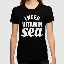 I Need Vitamin Sea Blue T-shirt