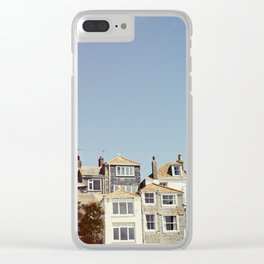 St. Ives house with tilt and shift view. Clear iPhone Case