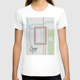 Chicago's Loop T-shirt