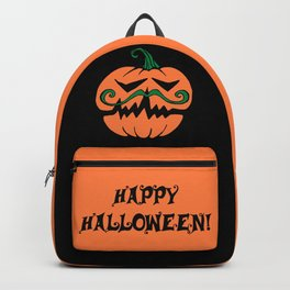Hipster Pumpkin Backpack