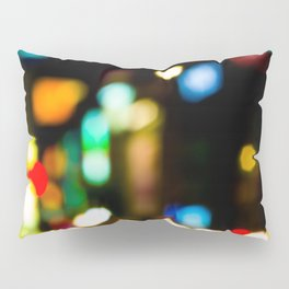 Shibuya Bokeh Lights Pillow Sham