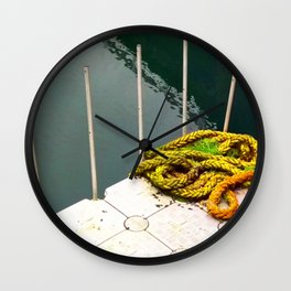 Rapunzel's Boat is Missing Wall Clock