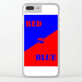 FAKE NEWS 02 Clear iPhone Case