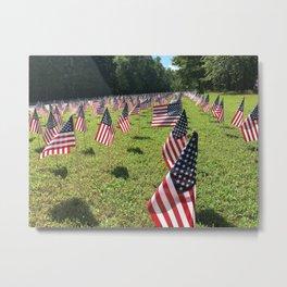 Remembering the Fallen of 9-11 Metal Print