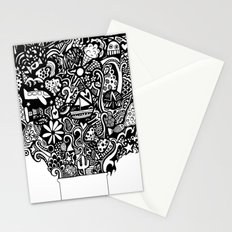 box of goodies Stationery Cards