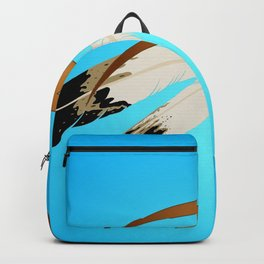 dreamcatcher blue Backpack