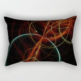 fractal fantasy Rectangular Pillow