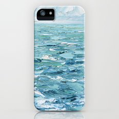 Stormy Seas iPhone SE Slim Case