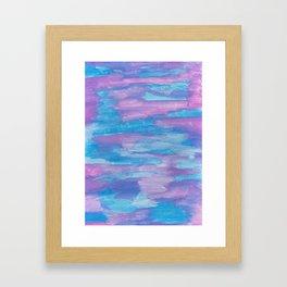Oceans and Sky Framed Art Print