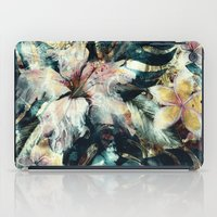 hibiscus iPad Cases featuring Hibiscus by RIZA PEKER