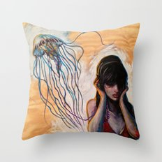 Don't be Jelly of my Jam Throw Pillow