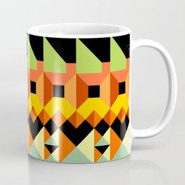 Abstract layered geometrics Coffee Mug