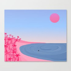 Never Alone // On Your Own Canvas Print
