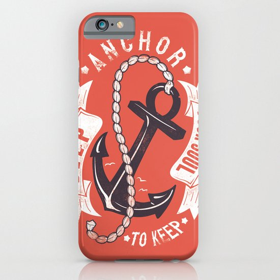 Anchor your soul iPhone & iPod Case