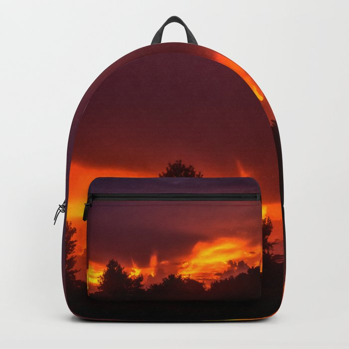 Sunset After The Storm Backpack