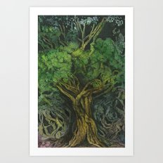 Living Tree Art Print