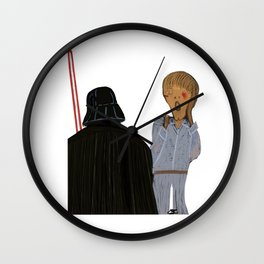 Edvard Munch I am your father Wall Clock