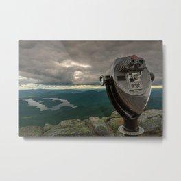 Lake Placid Vista Metal Print