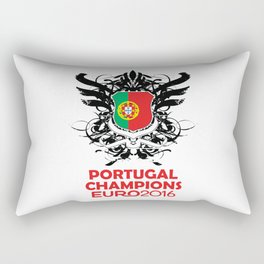 Portugal Champions Uefa Euro 2016 Rectangular Pillow
