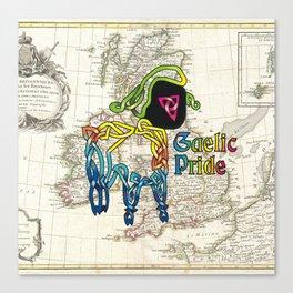 Gaelic Pride Lamb Knot Canvas Print