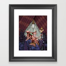 The Sword of Damocles Framed Art Print