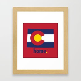 Colorado Proud Framed Art Print