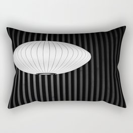 Geometric Glow Rectangular Pillow