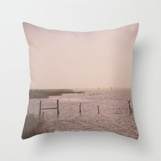 Coastal Morning Throw Pillow
