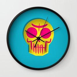 Triad Skull Wall Clock