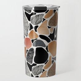 Colored stones. Travel Mug