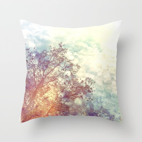 A Natural Montage Throw Pillow