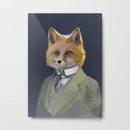 FOX FRIEND, by Frank-Joseph Metal Print