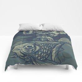 Seismic Waves Comforters