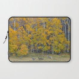Aspen Forest and Deer Laptop Sleeve
