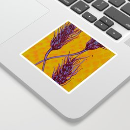 Seed Pods - Wheat Spikes Sticker