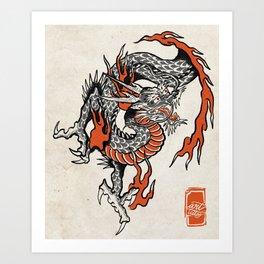 Dragón  Art Print