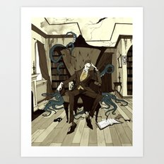 H.P. Lovecraft Art Print